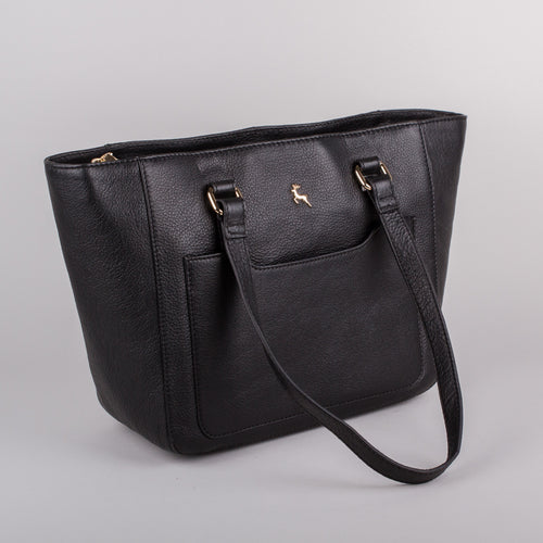 Ashwood Medium Joanna Handbag in Black