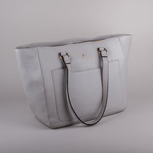Ashwood Large Joanna Handbag in Grey