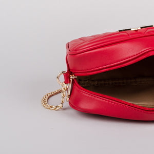 Sweetgum Lily Crossbody in Red