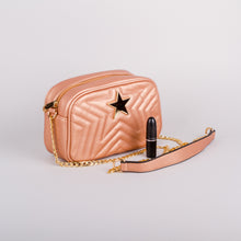 Sweetgum Lily Crossbody in Rose Gold