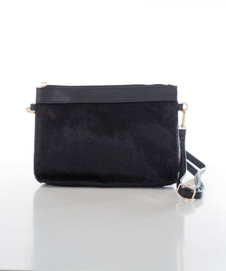 Sweetgum Millie Clutch in Black
