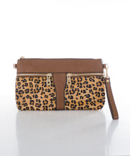 Sweetgum Molly Clutch in Leopard