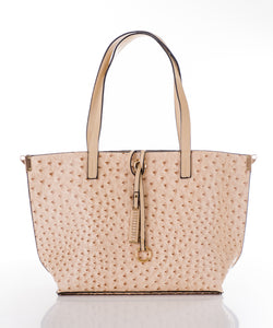 Aspen Fox Nia Handbag in Beige