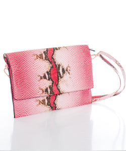 Sweetgum Leah Clutch in Red