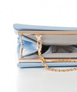 Sweetgum Sana Clutch in Blue