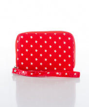 Sweetgum Stars Wallet in Red