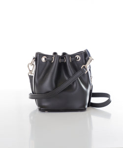 Aspen Fox Ria Small Bucket Bag in Black