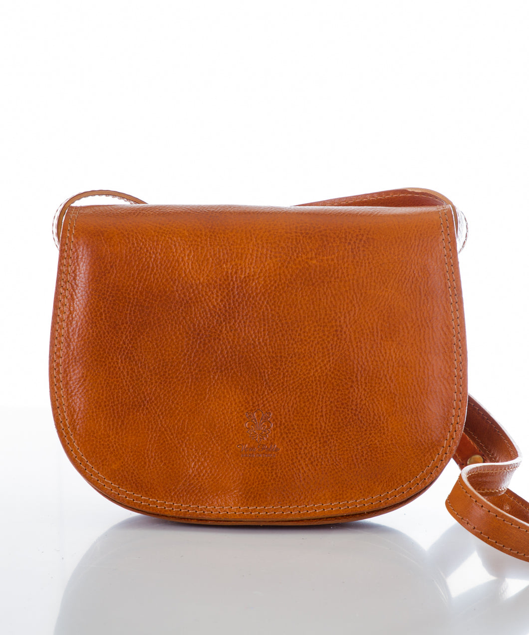Betulla Nicole Saddle Bag in Tan