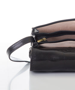 Betulla Nicole Saddle Bag in Black