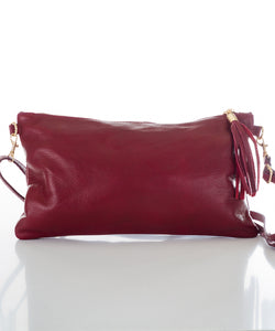 Betulla Alissa Clutch in Burgundy