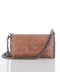 Aspen Fox Sienna Clutch in Taupe