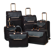 Ted Baker Albany in Black Cabin (56cm) 4 Wheel Suitcase