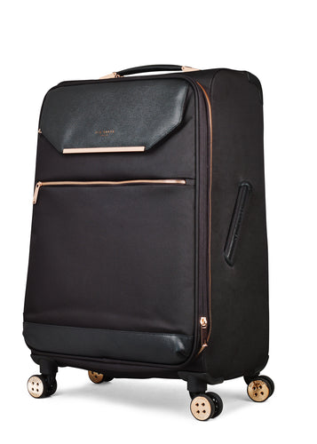 Ted Baker Albany in Black Medium (68cm) 4 Wheel Suitcase