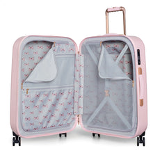 Ted Baker Beau in Pink Medium (69cm) 4 Wheel Suitcase