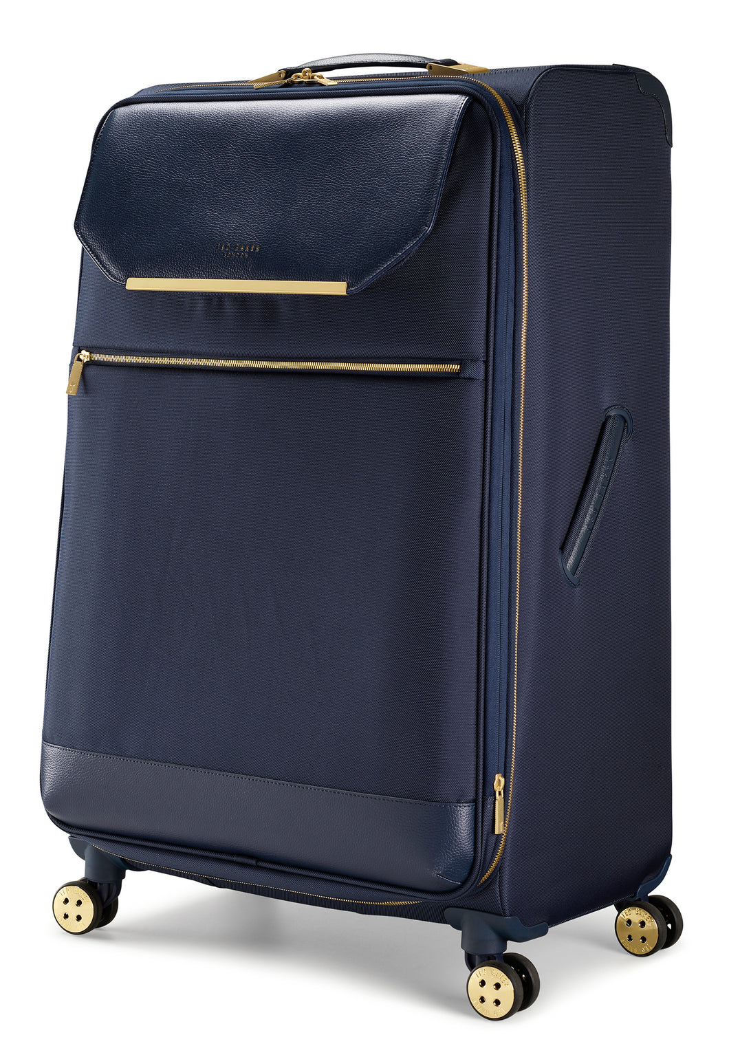 Ted Baker Albany in Navy Blue Large (80cm) 4 Wheel Suitcase