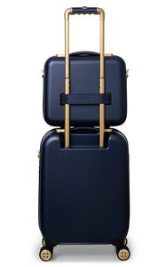 Ted Baker Beau in Navy Blue Medium (69cm) 4 Wheel Suitcase
