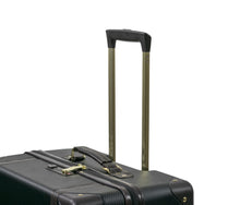 Rock Vintage Large 4 Wheeled Suitcase (78cm) in Black