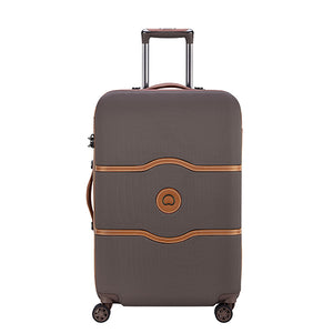 Delsey Chatelet Air Chocolate Large (77cm) 4 Wheel Suitcase