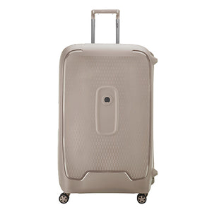 Delsey Moncey Grey Extra Large (82cm) 4 Wheel Suitcase