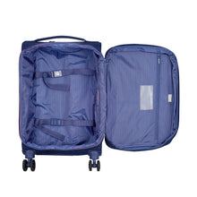 Delsey Montmartre Air 2.0 in Blue Medium (68cm) 4 Wheel Suitcase