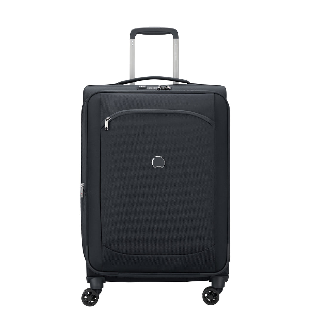 Delsey Montmartre Air 2.0 in Black Large (77cm) 4 Wheel Suitcase