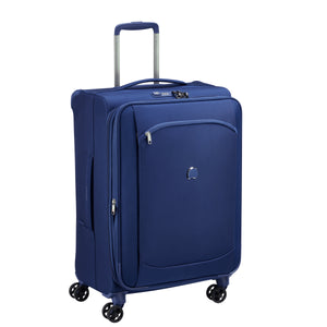 Delsey Montmartre Air 2.0 in Blue Large (77cm) 4 Wheel Suitcase