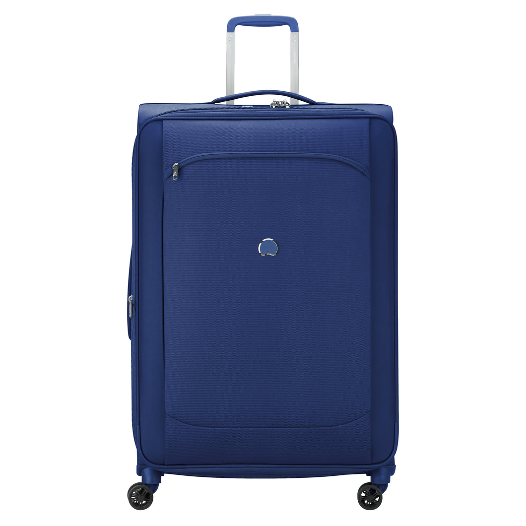 Delsey Montmartre Air 2.0 in Blue Extra Large (83cm) 4 Wheel Suitcase