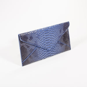 Dimple Ramaiya Nathair Purse in Blue