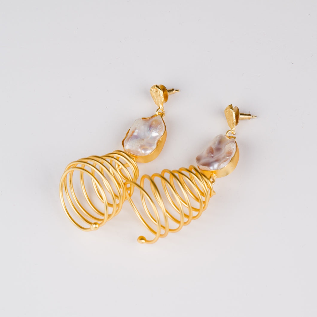 Dimple Ramaiya Kyla Earrings || Semi Precious Collection