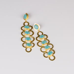 Dimple Ramaiya Ella Earrings || Semi Precious Collection