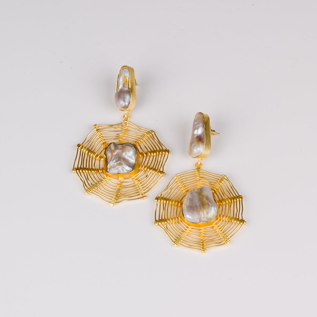 Dimple Ramaiya Giselle Earrings || Semi Precious Collection