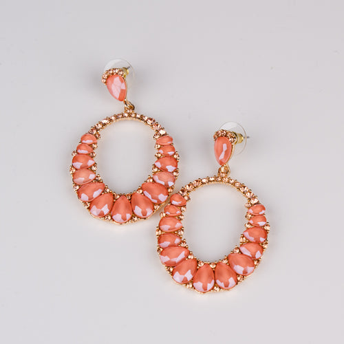 Dimple Ramaiya Jewellery Lyra Earrings (Pink) || Holiday Collection