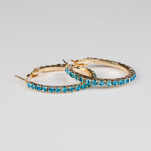 Dimple Ramaiya Sana Earrings (Turquoise) || Holiday Collection