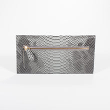 Dimple Ramaiya Nathair Purse in Grey