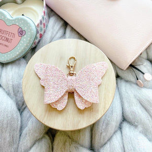 Pink Butterfly Bow Accessories