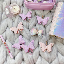 Load image into Gallery viewer, Purple butterfly Bow Accessories