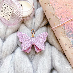 Purple butterfly Bow Accessories
