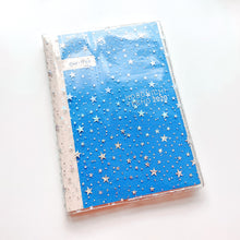 Load image into Gallery viewer, JD33 - Hobonichi Cousin (A5) - Clear Star Glitter Cover