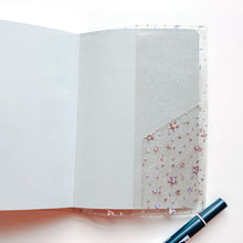 Load image into Gallery viewer, JD03 Star Glitter Cover for A6 Hobonichi/A6 Stalogy