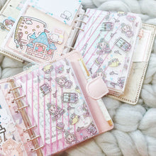 Load image into Gallery viewer, FD03/FD04 - Miya's Planner Life - A6 Rings/Personal Wide Rings Planner Folder