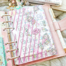 Load image into Gallery viewer, FD01/FD02 - Miya's Sweet Life - A6 Rings/Personal Wide Rings Planner Folder