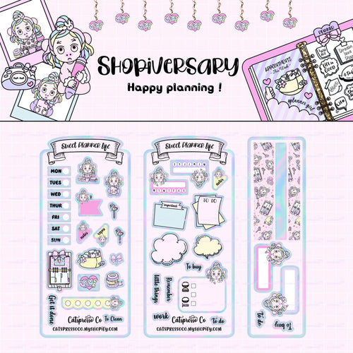 HWK01 - Miya's Planner Life - Hobonichi Weeks Sticker Kit
