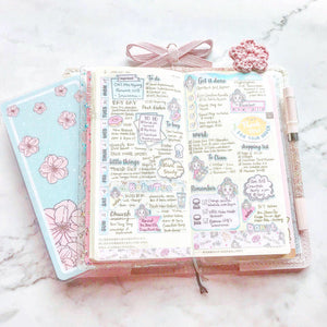 HWK02 - Miya's Sweet Life - Hobonichi Weeks Sticker Kit