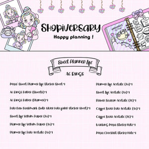 Shopiversary Bundle - Sweet Planner Life - NO COUPON CODE or
