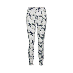 Ivory Rose Printed Legging
