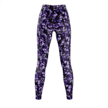 Load image into Gallery viewer, Ethereal Violet Printed Legging