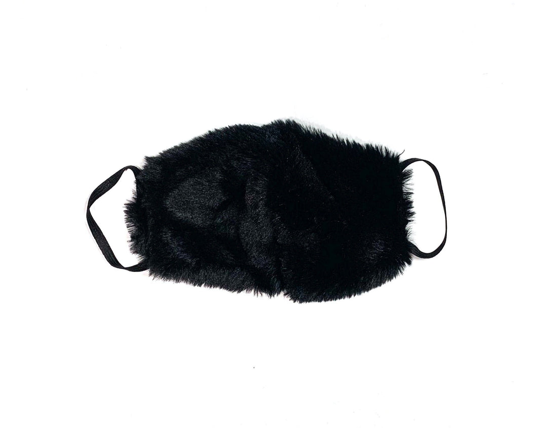 Faux Fur Face Masks