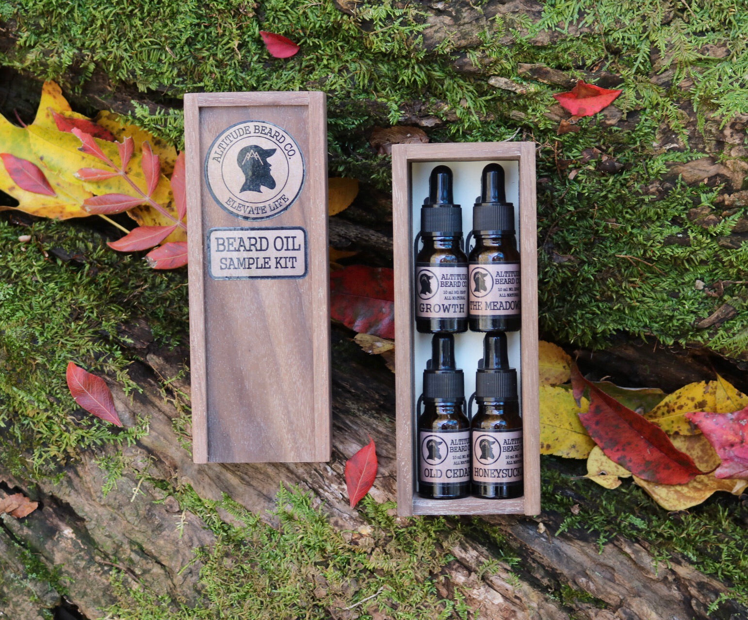 Beard Oil Sample Kit!