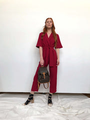 Chemistry Jumpsuit Berry