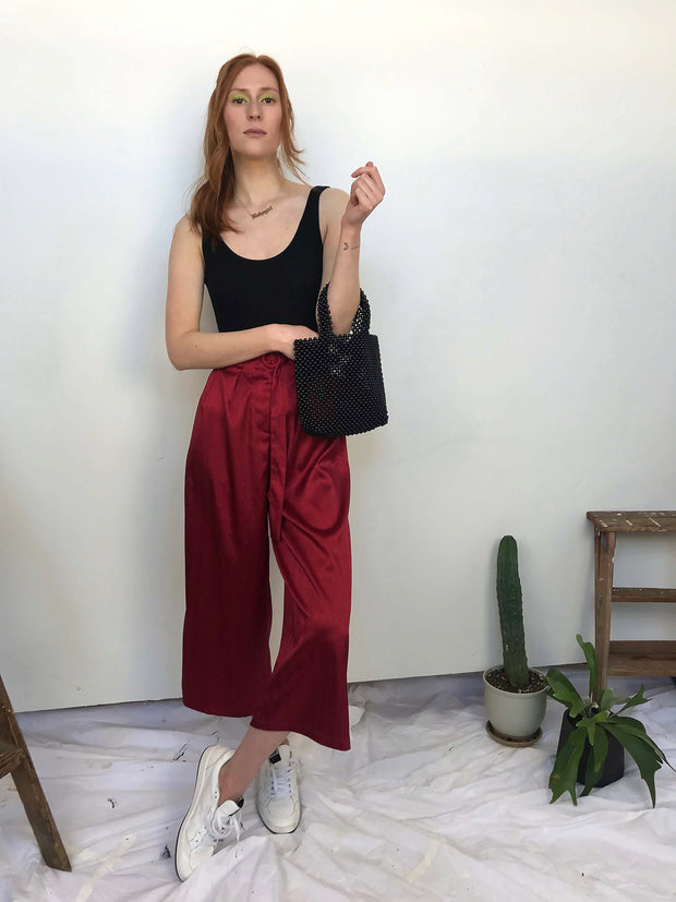 Lotti Trouser Cherry